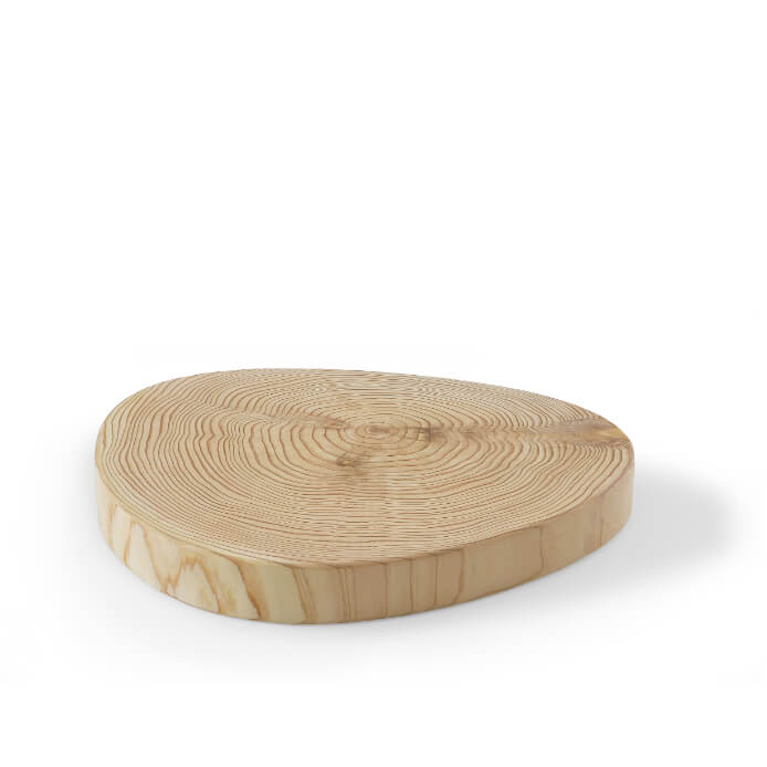 魅せる年輪シリーズ low-table/tray/saucer